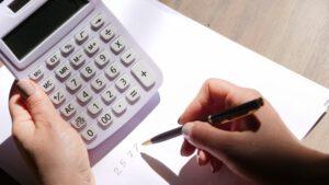 liczenie na białym kalkulatorze